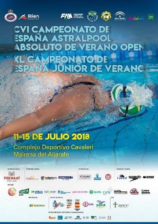 Cartel Campeonato Espana Verano Mairena 2018-
