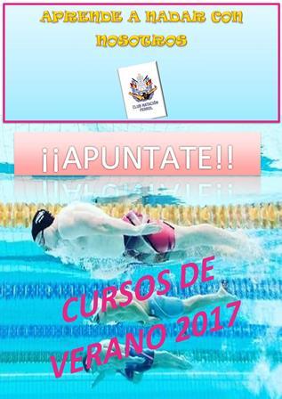 Cartel cursos de verano 2017